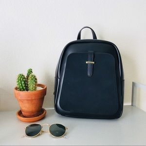 Avery Black Mini Backpack